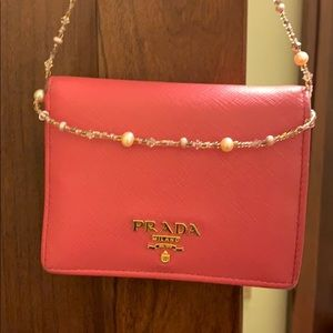 Authentic Prada wallets, used condition